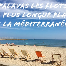 Palavas les flots la plus longue plage de la mediterranee